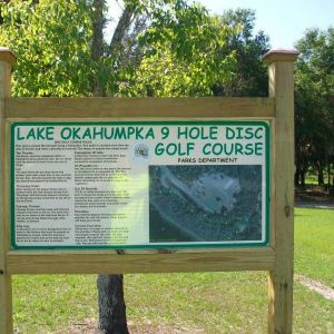 Lake Okahumpka Park - Disc Golf